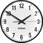 Power Over Ethernet Analog Clock