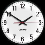 Power Over Ethernet Analog Clock
