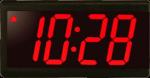 Power Over Ethernet Digital Clock