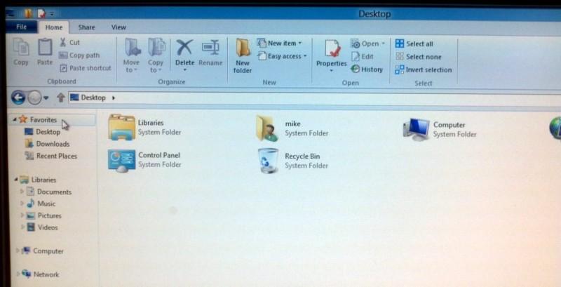 Desktop/File Manager