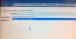 Windows Update - Driver