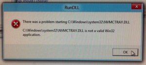 RunDLL Error