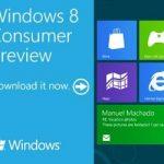Windows 8 Consumer Previewのダウンロード(ISOでは無い)