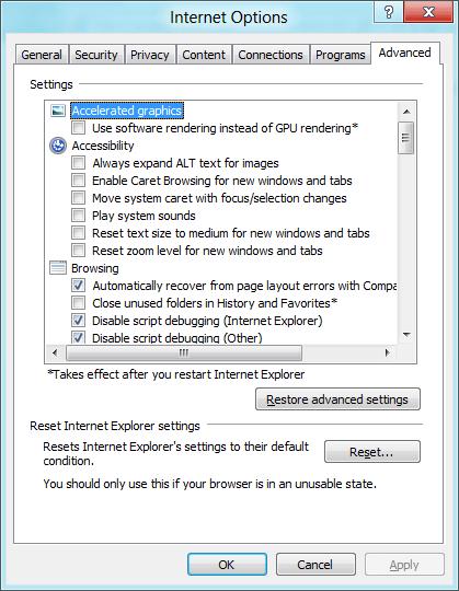 Windows 8 Consumer Preview Internet Explorer 10