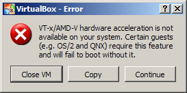 Windows 8 Consumer Preview Virtualbox Error