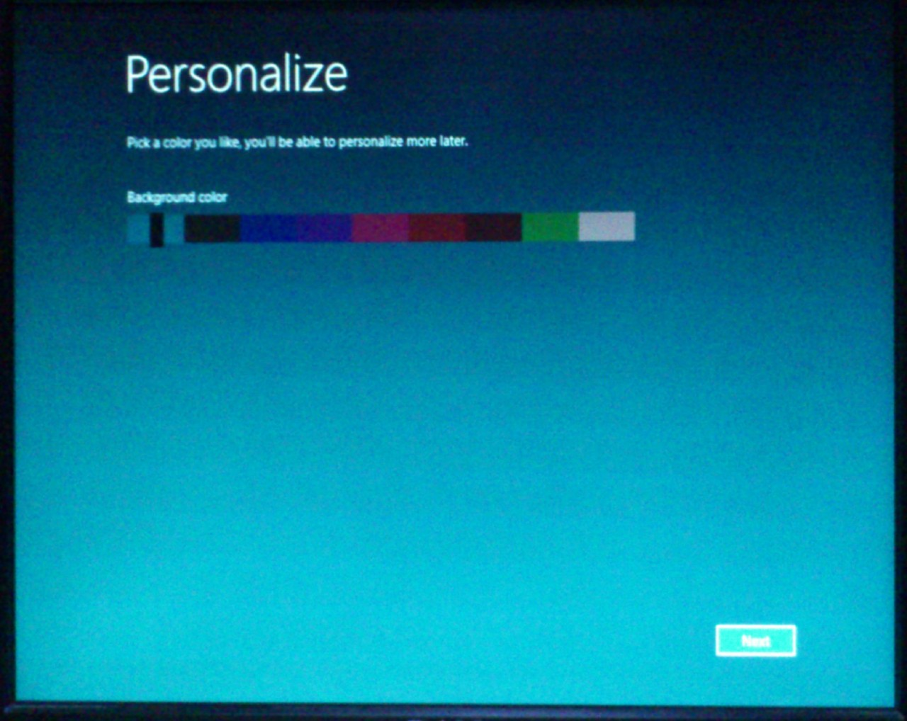Windows 8 Developer Preview Installation