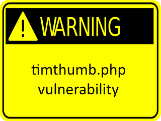 timthumb.phpの貧弱製を用いてゾンビ状態に!
