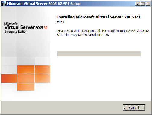 Virtual Server 2005 R2 Enterprise Edition - 03