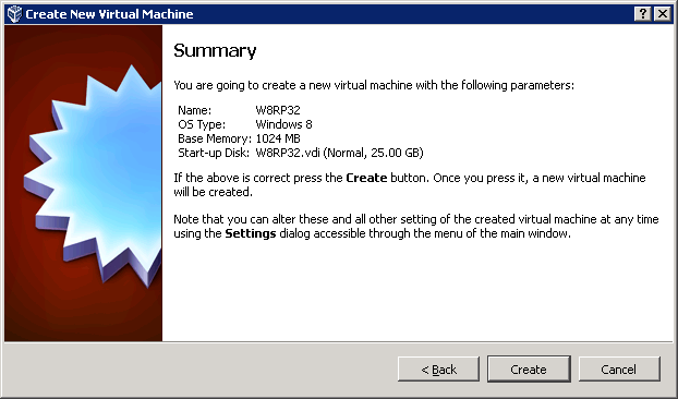 Virtualbox Windows 8 Release Preview