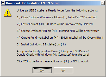 Windows 8 RTM USB Install