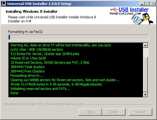 Windows 8 RTM USB Install