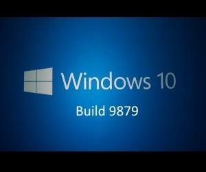 Windows 10 テクニカルプレビュー 9879