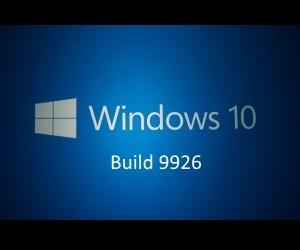 Windows 10 テクニカルプレビュー 9926