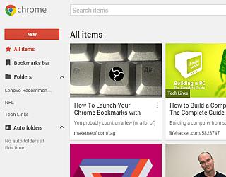 google Chromeの新しいブックマークを前のスタイルに戻す方法