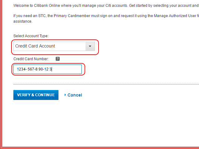 Costco Citibank Visa Account Registration