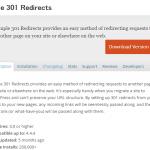Simple 301 Redirectsのデータベースの場所