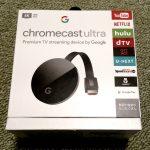 Chromecast UltraでAVC(h.264)/HEVC(h.265)を再生